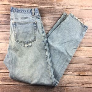 DISTRESSED BUTT VINTAGE CHEROKEE JEANS